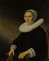 Portret van een vrouw, waarschijnlijk Jacobmina de Grebber (? -1666) Rijksmuseum SK-A-1616.jpeg