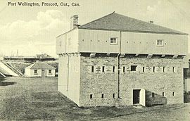Postcard of Fort Wellington Prescott Ontario Canada.jpg