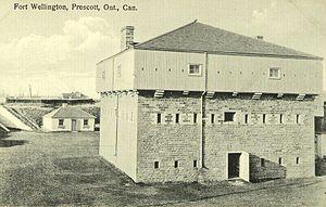 Fort Wellington - Postcard of Fort Wellington, circa 1930