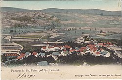 Postcard of Sv. Peter pod Sv. Gorami 1911.jpg