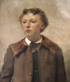 Potrait of young boy by Frans Mortelmans.png