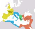 Praetorian prefectures in 4th century.png