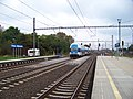 Praha-Běchovice, provizorní nástupiště, City Elefant.jpg