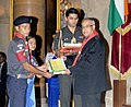 Pranab Mukherjee presented the Bharat Scouts & Guides Award 2011-2012, at the presentation of the Rashtrapati Scouts & Guides Awards for the year-2011 & 2012, at Rashtrapati Bhavan, in New Delhi on September 09, 2013.jpg