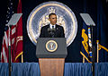 President Barack Obama addresses U.S. Navy cadets during the graduation ceremony for the U.S. Naval Academy Class of 2013 in Annapolis, Md., May 24, 2013 130524-M-KS211-010.jpg