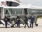 President Obama departs for Sooner State aboard Air Force One 150715-F-WU507-143.jpg