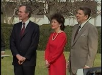 File:President Reagan's Presentation of Inaugural License Plate and Press Questions on December 14, 1984.webm