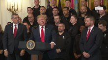 File:President Trump Delivers Remarks at the Wounded Warrior Project Soldier Ride.webm