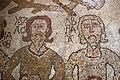 Prete pantaleone, mosaico del pavimento del duomo di otranto, 1163-1166, 26 paradiso coi patriarchi isacco e abramo 2.jpg