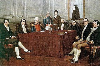 First independent government of Argentina