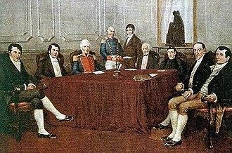 Primera Junta - Image: Primera junta por Francisco Fortuny