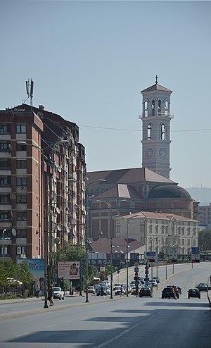 Bill Clinton Boulevard - Image: Pristina Bill Clinton Boulevard