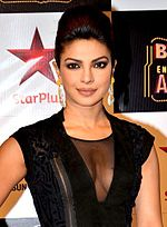 Priyanka Chopra at 2014 BIG Star.jpg