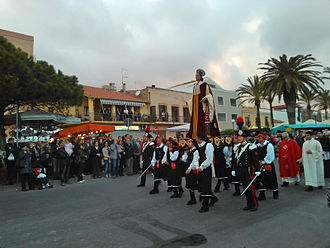 Antiochus of Sulcis - Procession of Saint Antiochus in Sant'Antioco