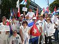 Protesto de kubanoj en Madrido.jpeg