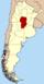 Lage der Provinz Córdoba