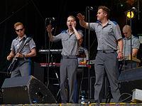 Provinssirock 20130615 - Puolustusvoimien Varusmiessoittokunta - 08.jpg