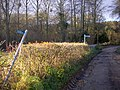 Public footpath signs, Clencher's Mill - geograph.org.uk - 1088088.jpg