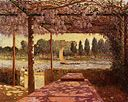 Puigaudeau, Ferdinand du - The Trellis by the River.jpeg