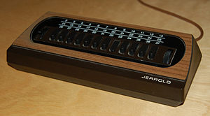 Cable television in the United States - Very early Jerrold cable converter box from the late 1970s.