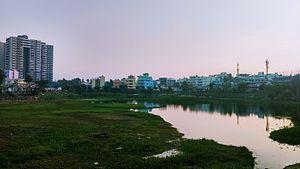 Puttenahalli Lake (JP Nagar) - Image: Puttenahalli Lake, JP Nagar, Bangalore