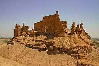 Al-Rahba Ruined castle in Syria