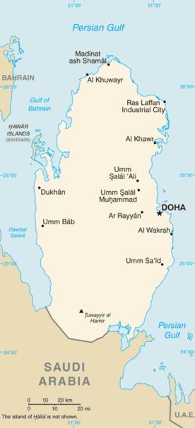 Dosiero:Qatar-CIA WFB Map.png