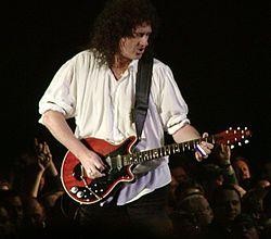 Brian May en 2005.