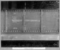 Queensland State Archives 3641 Rocklea workshops method of tack welding and marking off on roadway stringers Brisbane 7 June 1938.png