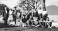 Queensland State Archives 932 Group on Lindeman Island c 1931.png