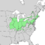 Quercus bicolor range map 1.png