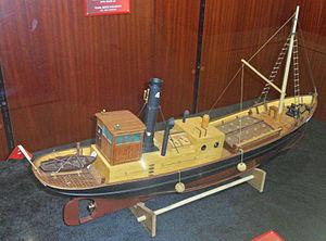 Rüsumat No 4 - Image: Rüsumat No. 4 tam gemi modeli
