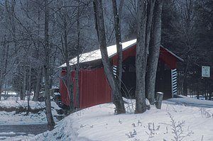 Rohrbach Covered Bridge No. 24 - Image: ROHRBACH COVERED BRIDGE