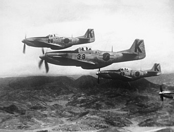 P-51 Mustangs were among the first fighter aircraft for the ROKAF ROKAF F-51D.JPEG