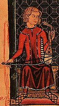 Rabâb player in Southern Spain, from the Cantigas de Santa Maria.
