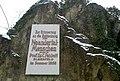 Rabenstein Neanderthal, Fuhlrott-Gedenktafel 2013.jpg