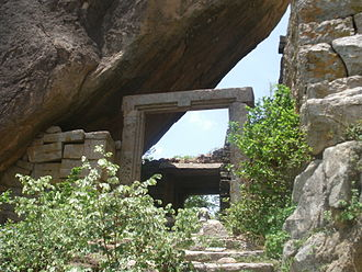 Rachakonda - One of the gateways up the fort hill