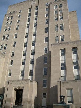 Racine County, Wisconsin - Image: Racine County Court House