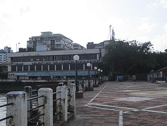 Bombay Presidency Radio Club - Bombay Presidency Radio Club and pier