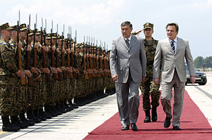 President Nebojša Radmanović and President Har...