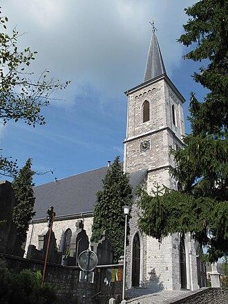 Raeren - Image: Raeren, Sankt Nikolauskirche foto 1 2010 09 04 15.57