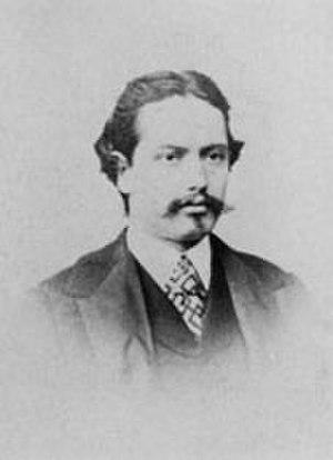 Raffaello Sernesi - Photograph of Raffaello Sernesi, c. 1860
