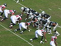 Raiders on offense at Atlanta at Oakland 11-2-08 10.JPG