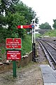 Railway signs at Harmans Cross - geograph.org.uk - 1103015.jpg