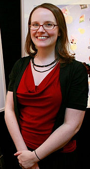 Artist Raina Telgemeier in New York, USA.