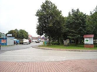 Raków, Kielce County - Image: Raków Plac Wolności 7