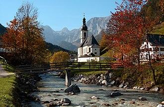 Ramsau bei Berchtesgaden - Image: Ramsau (ja)