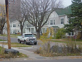 West Duluth - A new local rowhouse (townhome) development.