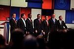 Rand Paul, Chris Christie, Ben Carson, Ted Cruz, Marco Rubio, Jeb Bush & John Kasich (24107554833).jpg