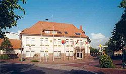 Town hall in Apen